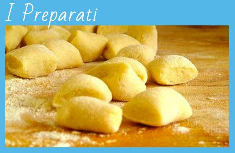 preparati per pizza, dolci, pasta, gnocchi, pan grattato