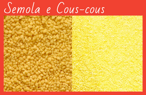 semola, cous-cous, grano duro