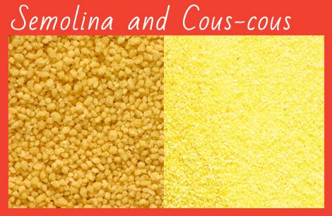 durum wheat semolina, cous-cous