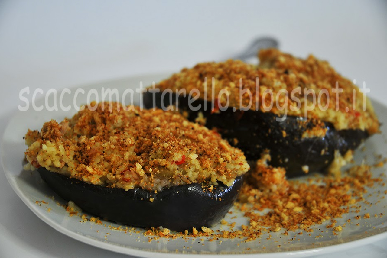 eggplant with couscous recipe